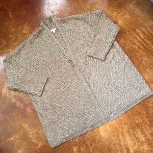 J. Jill Alpaca-Blend Cozy Draped Neck Sweater 2X